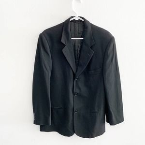Banana Republic Black Blazer Sports Coat Size 38 S